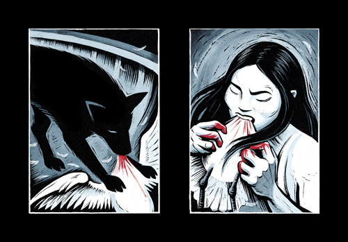 Blood Song, par Eric Drooker