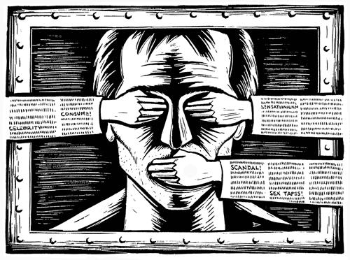 Drooker - Censorship