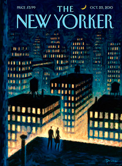 Eric Drooker, The New Yorker