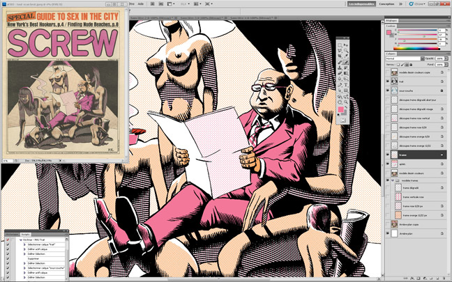 Paul Kirchner - Screw cover reconstruction