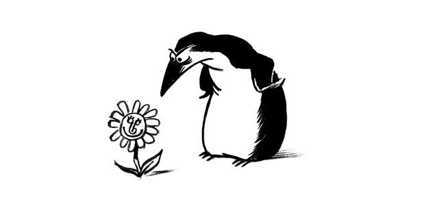 Pingouins, par L.L. de Mars