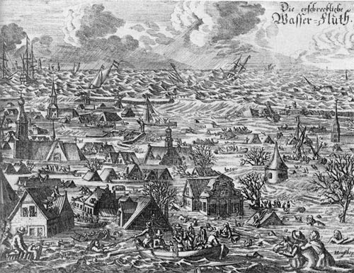 Flood ! 1634