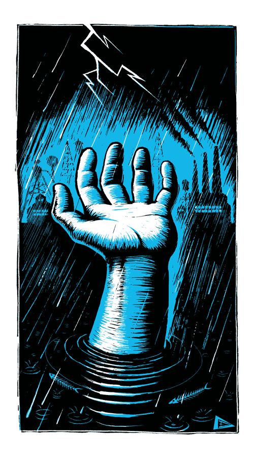 Flood ! par Eric Drooker