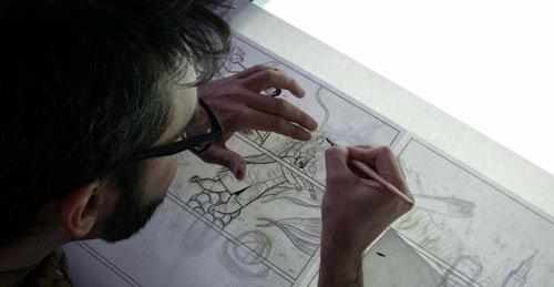 Lucas Varela en action
